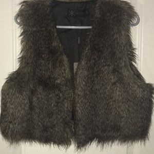 KARDASHIAN KOLLECTION Fur Vest